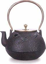 HYY-YY Service à thé en fonte 1300 ml Bouilloire