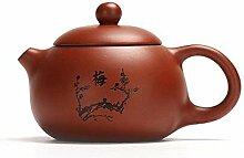 Hyy-yy Théière argile pourpre Yixing à thé