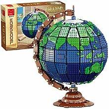 HYZH Kit de bloc de construction de globe, 2420Pcs