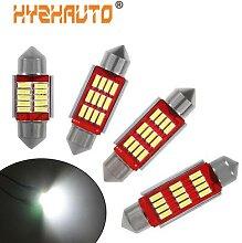 HYZHAUTO – ampoule Canbus C10w C5w, guirlande