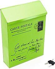 HZPXSB Boîte Postale métallique étanche