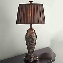 HZS Lampe de table européenne Luxueuse De nouveau