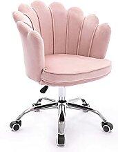 HZYDD Chaise de Bureau en Velours Chaise à
