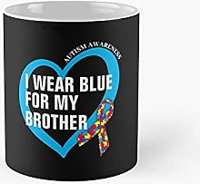 I Wear Blue For My Brother Classic Mug Best Gift