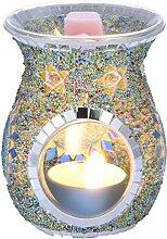 iBaste Lampe à parfum en verre - Brûleur