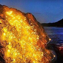 Ibello Guirlande Lumineuse 10M 100 LEDs Petit