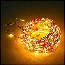 Ibello Guirlande Lumineuse 12M 100 LEDs 8 Modes