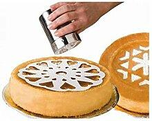 IBILI 719900 Lot de 10 Pochoirs pour Gâteaux,