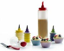 Ibili 735500 Set de cupcakes luxe