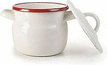 IBILI 909612 Marmite Mini, Verre, Blanc, 12 cm