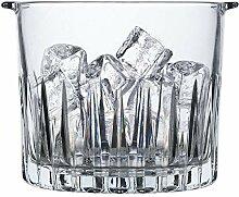 Iceclubs Seau À Glace En Verre Cristal,Seau à