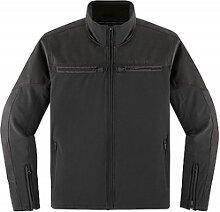 Icon 1000 Nightbreed veste textile male    - Noir