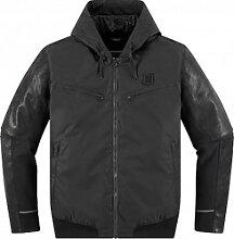 Icon 1000 Varial veste en cuir-textile male    -