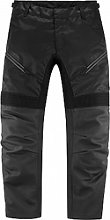 Icon Contra-2 pantalon en cuir-textile male    -