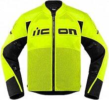 Icon Contra 2 veste textile male    - Jaune