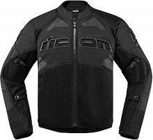 Icon Contra 2 veste textile male    - Noir/Noir - L