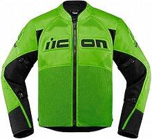 Icon Contra 2 veste textile male    - Vert/Noir - S
