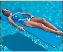 Id Piscine - Matelas mousse Sunray bleu 178 x 63 x
