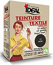 Ideal TEINTURE TEXTILE MACHINE NOIR 350GR FIXATEUR