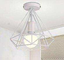 iDEGU Luminaire plafonnier industriel forme