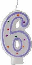 Idena 408353 – Bougie numérotée, bougie pour