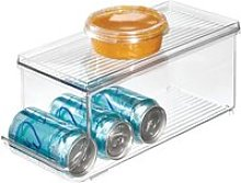 iDesign bac rangement frigo à couvercle, petite