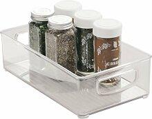 iDesign bac rangement frigo, boîte alimentaire