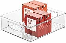 iDesign bac rangement frigo, grande boîte
