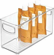 iDesign bac rangement frigo, petite boîte