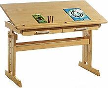 IDIMEX Bureau Enfant écolier Junior Olivia Table