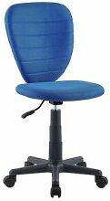 IDIMEX Chaise de bureau enfant DISCOVERY, en mesh
