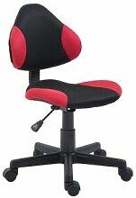 IDIMEX Chaise de bureau pour enfant ALONDRA,