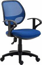 Idimex - Chaise de bureau pour enfant COOL