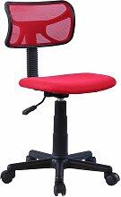 Idimex - Chaise de bureau pour enfant MILAN