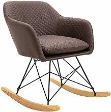IDIMEX Fauteuil à Bascule ADELANO Rocking Chair