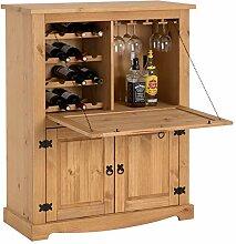 IDIMEX Meuble Bar à vin Tequila Armoire comptoir