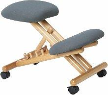 Idimex - Tabouret ergonomique BORMIO siège