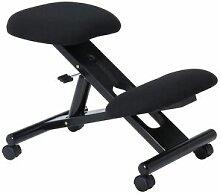 IDIMEX Tabouret ergonomique MALO, structure en