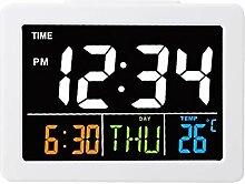 IDWT Réveil, Horloge LED Horloge Murale
