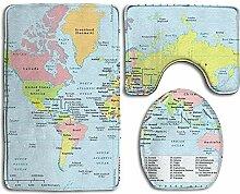 If Not Carte du Monde avec Les Pays et Les