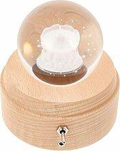 ifundom 1 Set Boules de Neige de Noël 3D Boule