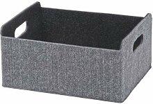 Ikea Boîte Besta grise - 25 x 31 x 15 cm.