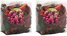 Ikea Dofta Lot de 2 sacs de pot-pourri Motif baies