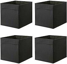 Ikea Drona Lot de 4 boîtes de rangementpour