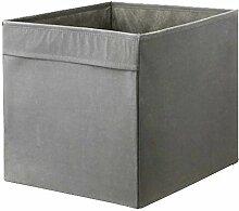 Ikea - Drona - Rangement, gris, 4 Pack