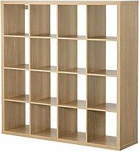 Ikea Kallax 16étagère carrée en chêne
