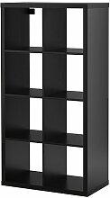 Ikea Kallax Étagère–Noir–Marron