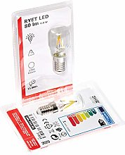 Ikea Ryet Lot de 2 ampoules LED à filament E14 80