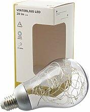 IKEA Vinterljus Ampoule LED décorative E27 Blanc