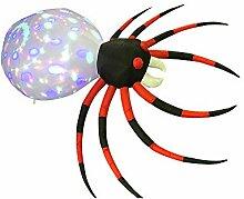 IKMV Halloween 2.4m modèle Gonflable araignée